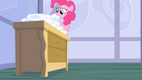 Pinkie Pie getting diapers S2E13