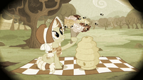Granny Smith giving flowers to bees S2E12