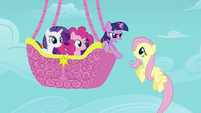 Twilight tells Fluttershy what she needs to do S2E02