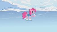 Pinkie Pie tells Twilight to steer S1E11