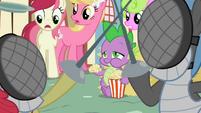 Spike eating popcorn S2E06