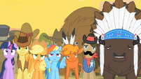 The Crowd watching Pinkie Pie's act S1E21