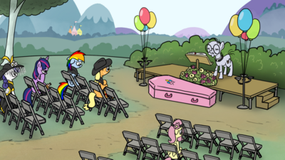 Pinkie's funeral
