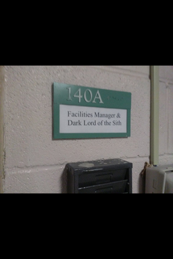 Room 140A Sign
