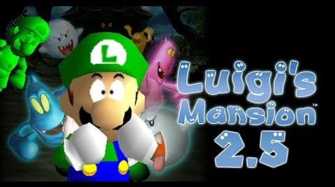 Halloween 2018 Luigi's Mansion 2.5