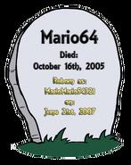 Rip on a gravestone 0521-1010-2321-1007 MU