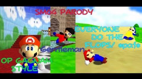 Super Mario 64 Parody Song Gagnam style bonus