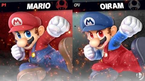 Mario Vs. Oiram!