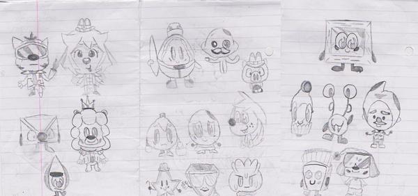Mmfc doodles