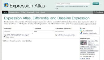 ExpressionAtlas