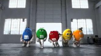 M&M's - One Candy Shall Stand