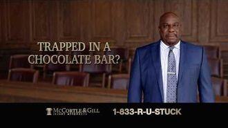 M&M's Chocolate Bar - Injury Attorneys (2019, USA)