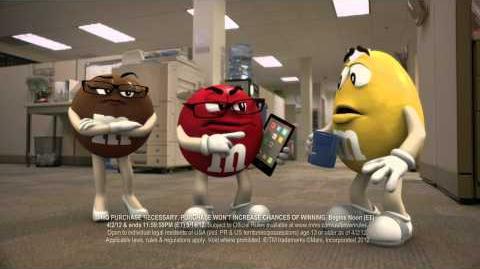 "M&M'S ""Mock"" 15 Commercial"
