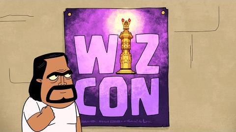 Clash-A-Rama! The Series Wiz Con! (Season Finale)-2