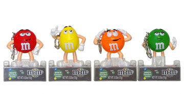12529 M&M Character Keychain with clipUNITS.preview