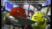 M&Ms Find All Red Millennium Contest Commercial 1998