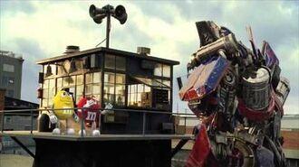 M&M's - Transformers (2009, USA)