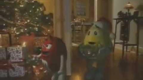M&M's Christmas 2001