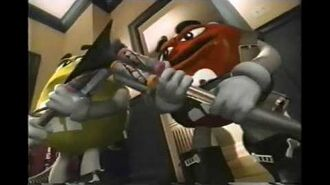 M&M Minis Chocolate Candy Commercial 1998-0