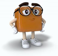 Caramel Piece Guy character
