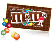 M&ms milk chocolate small pack