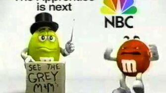 M&M s NBC The Apprentice 2004, USA Low