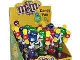 CandyRific M&M's Candy Fans
