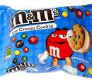 M&M's Ice Cream Cookies