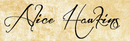 Alice hawkins signature