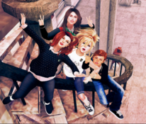 Aloy, Casey, Abby and Tal