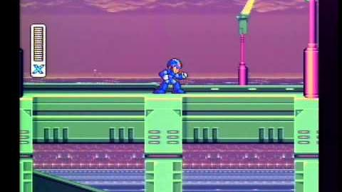"Megaman X NO lag intro stage akka ""all the tacos strat"""