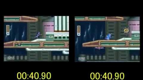 Chill Penguin Comparison in Megaman X