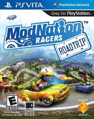 Modnation Racers-Road Trip Box Art