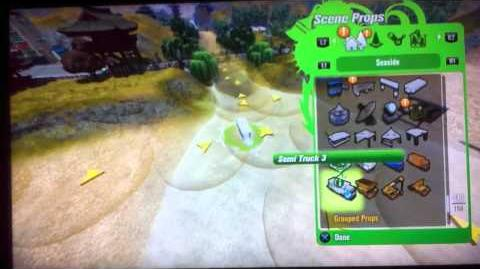 Modnation Racers Tutorial Prop Area Budget Trick