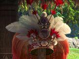Moana's chief headdress