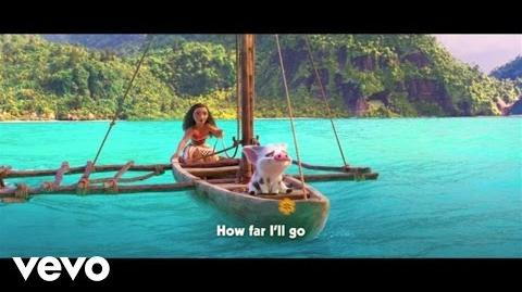 "Auli'i Cravalho - How Far I'll Go (Sing-Along) (From ""Moana"")"