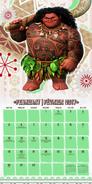 Moana Calendar 3