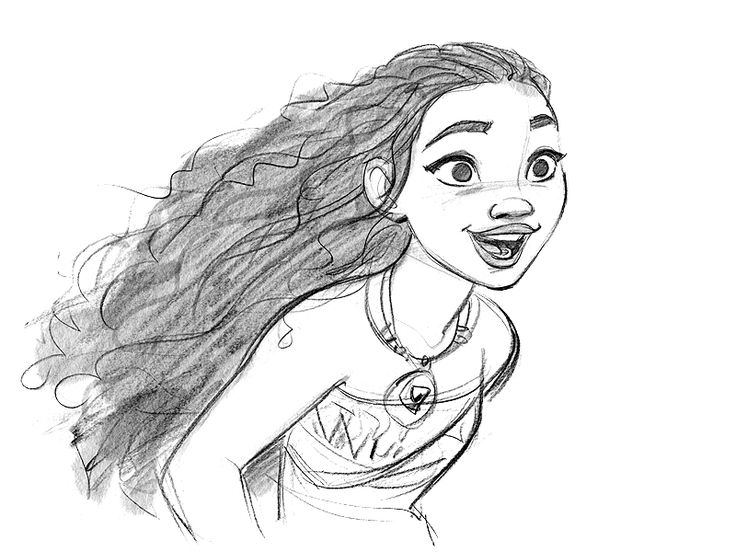 + Drawing Of Moana | The Expert