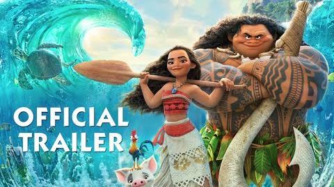Moana Official Trailer
