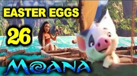26 MOANA EASTER EGGS