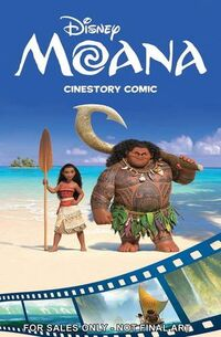 Moana- Cinestory Comic