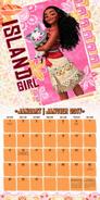 Moana Calendar 2