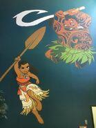 Moana mural