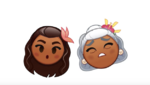 Moana and Grandma Tala Emojis