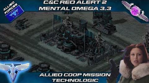 Mental Omega 3.3 Red Alert 2 - Allied Coop Mission Technologic