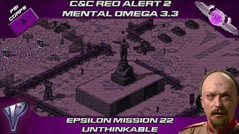 MENTAL OMEGA 3.3 RED ALERT 2 - Yuri Mission 22 UNTHINKABLE