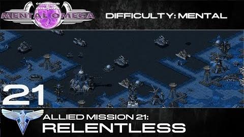 Mental Omega 3.3 Allied Mission 21 Relentless