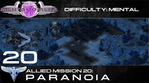 Mental Omega 3.3 Allied Mission 20 PARANOIA