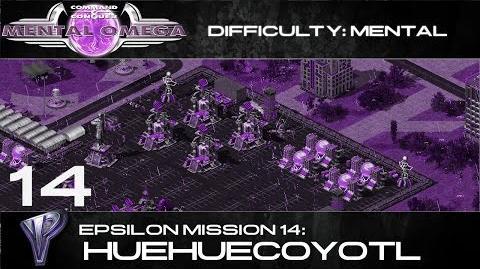 Mental Omega 3.3 Yuri's Epsilon Mission 14 Huehuecoyotl