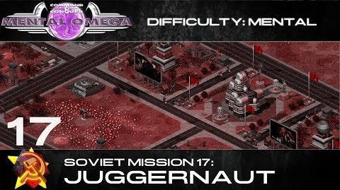 Mental Omega 3.3 Soviet Mission 17 Juggernaut